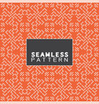 seamless pattern and modern stylish vector image vector image