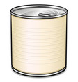tin can design concept vector image