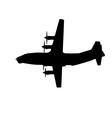 warplane vector image vector image