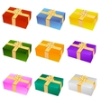 nine gifts vector image