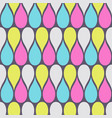 abstract seamless pattern color drops vector image vector image
