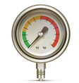 Manometer vector image