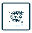 Night clubs disco sphere icon vector image vector image