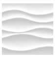 Wavy 3D surface vector image