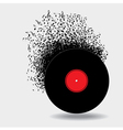 Record Notes vector image
