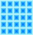 Abstract Blue Square Pattern vector image vector image