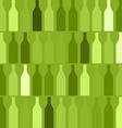 Background Bottles green vector image vector image