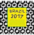 Brazil 2017 vector image