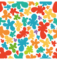 Colorful eseamless pattern of blots vector image vector image