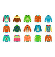 knitted sweater woolen ugly jumpers with vector image vector image