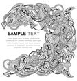 paisley ornate vector image vector image