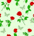 roses wallpaper pattern vector image