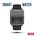 Smart design example wrist watch vector image vector image