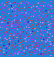 spotted blue pattern vector image