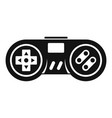 wireless controller icon simple style vector image vector image