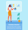 businness training for women businness strategy vector image vector image