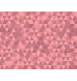 Triangle background red vector image vector image