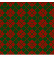 winter christmas x-mas knit seamless background vector image