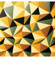 abstract triangles background vector image