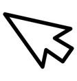 arrow mouse cursor icon vector image