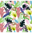 Cartoon abstract seamless pattern lazybones in
