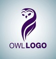 OWL LOGO 3 vector image