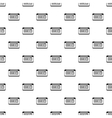Taximeter pattern simple style vector image vector image