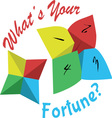 Your Fortune vector image vector image