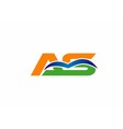 aq logo vector image