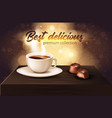 best delicious premium collection realistic banner vector image