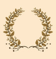 foliage nature leaves vector image vector image
