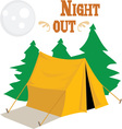 Night Out vector image vector image