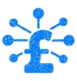 Pound Relations Grainy Texture Icon vector image vector image