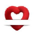 symbol love vector image vector image