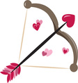 Valentine Bow vector image