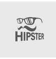 hipster retro design template vector image