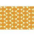 Ornamental geometric seamless pattern vector image