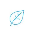 botany thin line stroke icon botany vector image