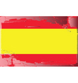spain national flag vector image vector image