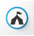 tent icon symbol premium quality isolated camp vector image