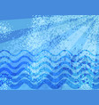 blue summer sea cartoon abstract background vector image vector image