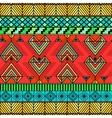 Bright ethno pattern vector image