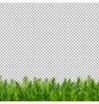 christmas tree border transparent background vector image