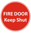 emergency fire exit door and exit door vector image