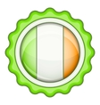 Ireland emblem icon cartoon style vector image vector image