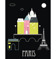 Paris France vector image