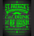 saint patricks day feast of saint patrick vector image vector image