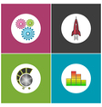 Set of Business Icons Teamwork vector image vector image