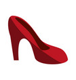 stiletto heel shoe icon image vector image