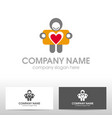 travelcard logo design vector image vector image